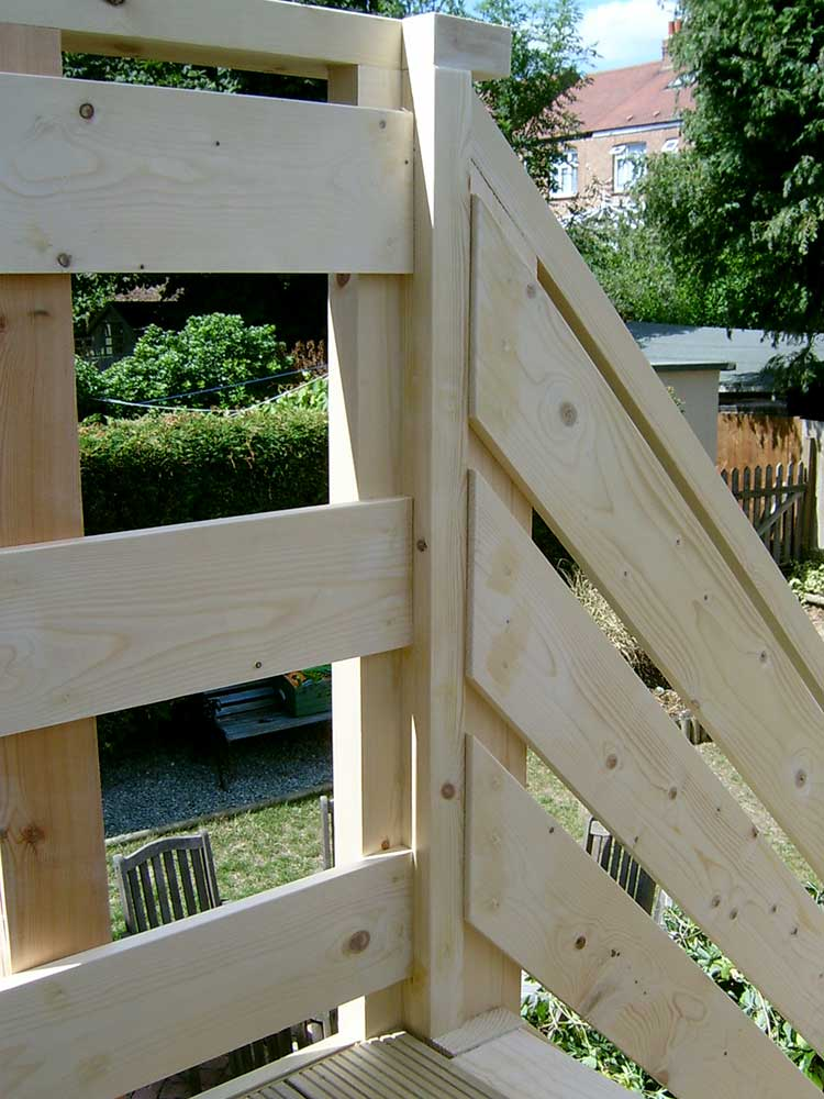 Decking Stairs